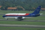 やまっちさんが、スカルノハッタ国際空港で撮影したスリウィジャヤ航空 737-2B7/Advの航空フォト(写真)