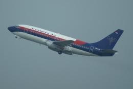 やまっちさんが、スカルノハッタ国際空港で撮影したスリウィジャヤ航空 737-284/Advの航空フォト(飛行機 写真・画像)