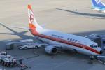 たにへいさんが、中部国際空港で撮影した日本トランスオーシャン航空 737-446の航空フォト(写真)