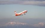 たにへいさんが、中部国際空港で撮影した日本トランスオーシャン航空 737-446の航空フォト(飛行機 写真・画像)
