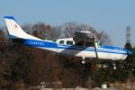 Chofu Spotter Ariaさんが、調布飛行場で撮影した朝日航空 T207 Turbo Skywagon 207の航空フォト(飛行機 写真・画像)