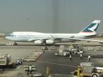 シフォンさんが、スワンナプーム国際空港で撮影したキャセイパシフィック航空 747-467の航空フォト(写真)