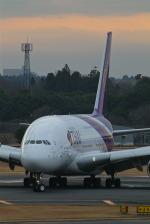 kuxiuxingさんが、成田国際空港で撮影したタイ国際航空 A380-841の航空フォト(写真)