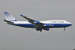 ぶる~すかい。さんが、成田国際空港で撮影したユナイテッド航空 747-451の航空フォト(飛行機 写真・画像)