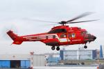 Chofu Spotter Ariaさんが、東京ヘリポートで撮影した東京消防庁航空隊 AS332L1の航空フォト(写真)