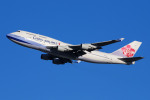 KRN6035さんが、成田国際空港で撮影したチャイナエアライン 747-409の航空フォト(写真)