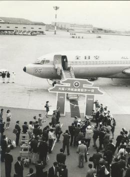 東亜国内航空さんが、伊丹空港で撮影した全日空 727-81の航空フォト(飛行機 写真・画像)