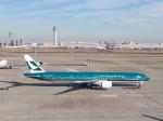 そばぬこさんが、羽田空港で撮影したキャセイパシフィック航空 777-367/ERの航空フォト(写真)