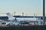 パンダさんが、成田国際空港で撮影したTAG エイビエーション・アジア BD-700-1A10 Global Expressの航空フォト(写真)