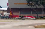 jombohさんが、シンガポール・チャンギ国際空港で撮影したアジアリンク・カーゴ・エアラインズ F27-500 Friendshipの航空フォト(写真)