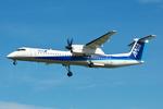 ひろぽ~んさんが、仙台空港で撮影したANAウイングス DHC-8-402Q Dash 8の航空フォト(写真)
