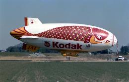 sin747さんが、ホンダエアポートで撮影した日本飛行船事業 Skyship 500の航空フォト(飛行機 写真・画像)