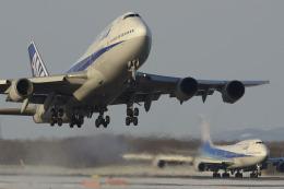 Longさんが、新千歳空港で撮影した全日空 747-481(D)の航空フォト(写真)