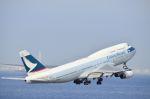 tomo@Germanyさんが、中部国際空港で撮影したキャセイパシフィック航空 747-467の航空フォト(写真)