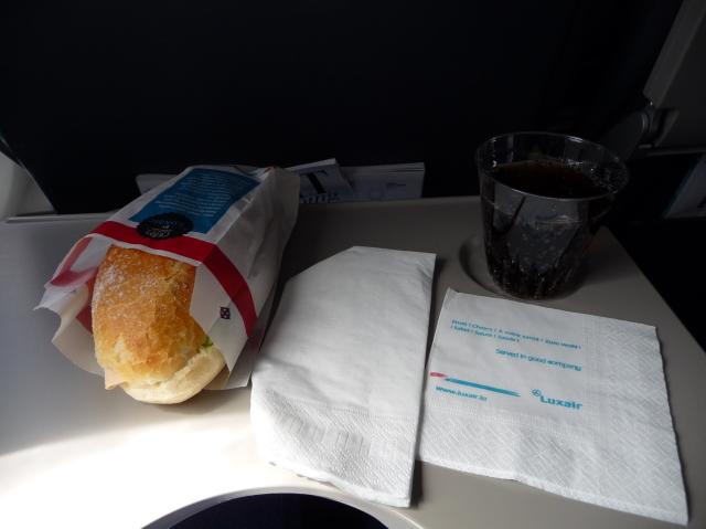 LG4607の搭乗レビュー写真