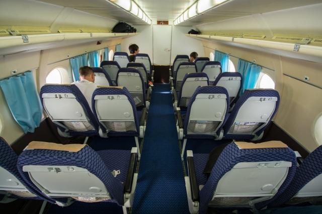 JS5502の搭乗レビュー写真