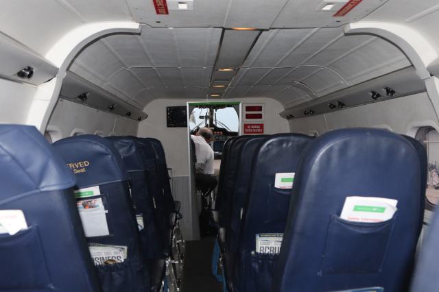 HES380の搭乗レビュー写真