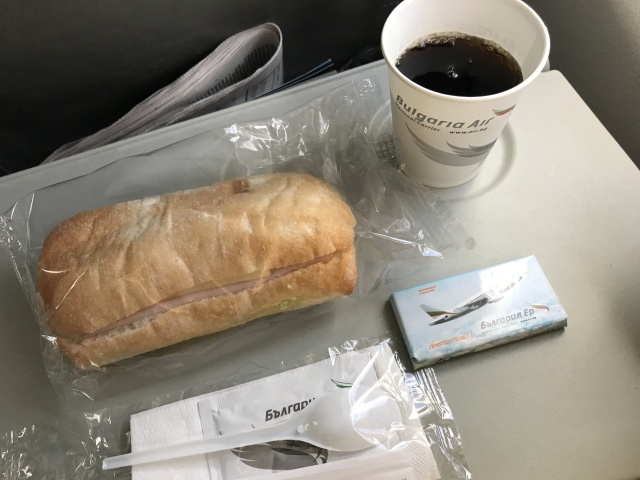 FB461の搭乗レビュー写真