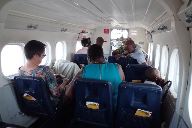 JY211の搭乗レビュー写真