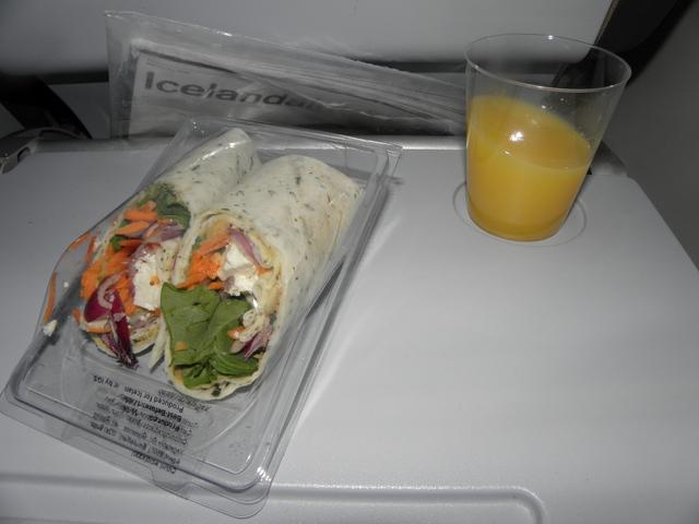 FI614の搭乗レビュー写真