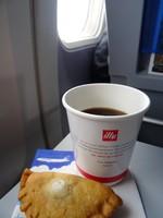 UA154の搭乗レビュー写真