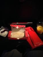 qf25の搭乗レビュー写真