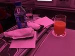 CA872の搭乗レビュー写真