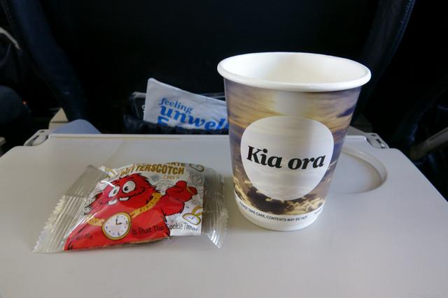 NZ8071の搭乗レビュー写真