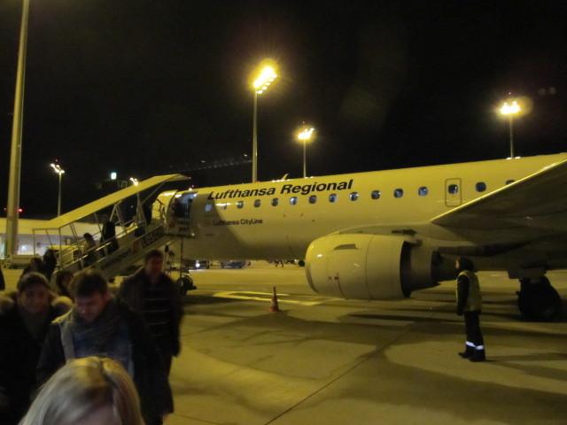 LH1625の搭乗レビュー写真