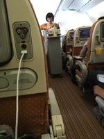 SQ619の搭乗レビュー写真