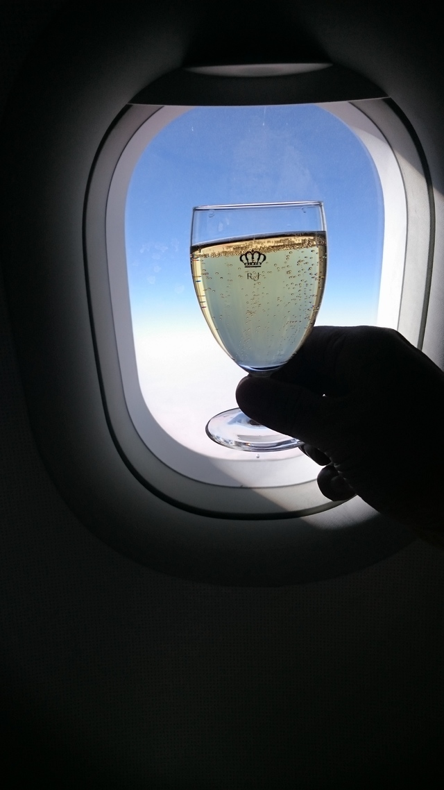 RJ646の搭乗レビュー写真