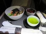 写真の種類:機内食・ドリンク