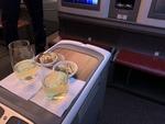 LA705の搭乗レビュー写真