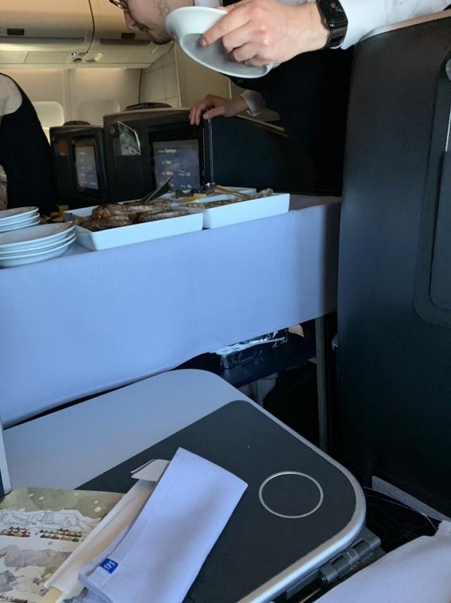 SK984の搭乗レビュー写真