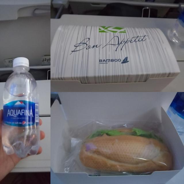 QH261の搭乗レビュー写真
