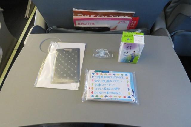FDA821の搭乗レビュー写真