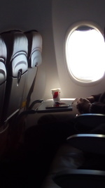 BC597の搭乗レビュー写真