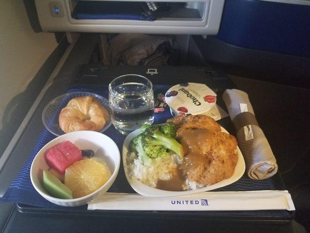 UA7の搭乗レビュー写真