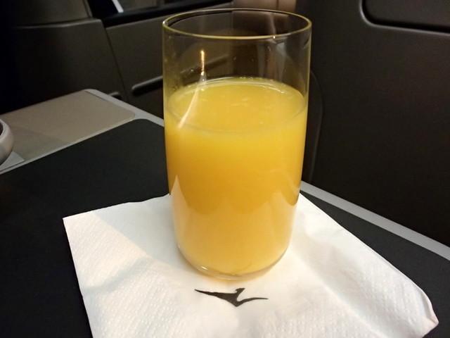 QF140の搭乗レビュー写真