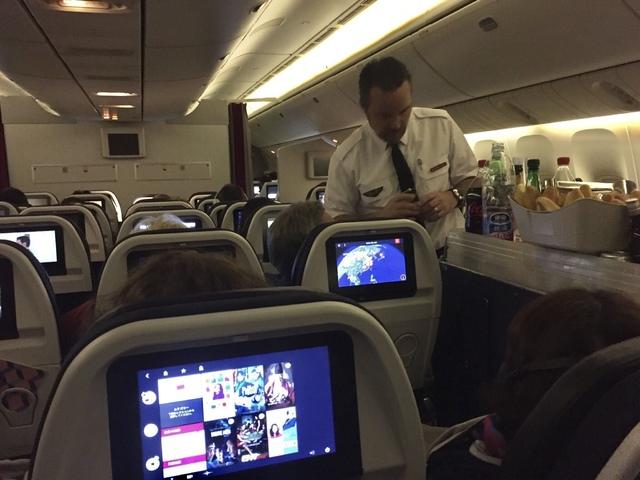 AF111の搭乗レビュー写真