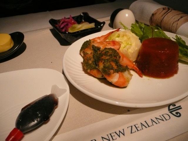 NZ090の搭乗レビュー写真