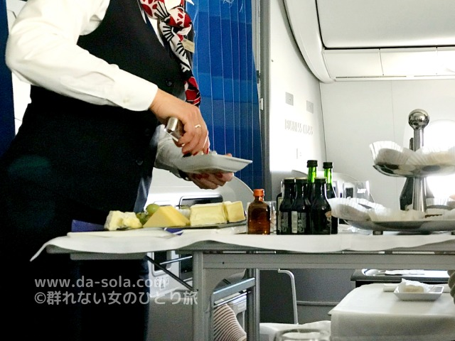 LO098の搭乗レビュー写真