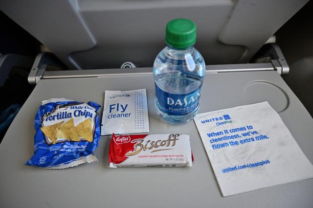 UA6136の搭乗レビュー写真