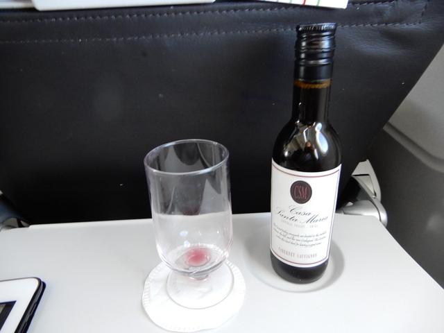 BA579の搭乗レビュー写真