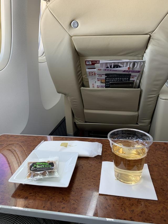 JL302の搭乗レビュー写真