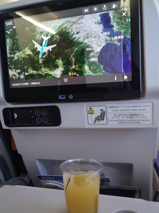 NH2030の搭乗レビュー写真