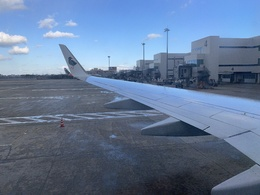 写真の種類:機内からの眺め