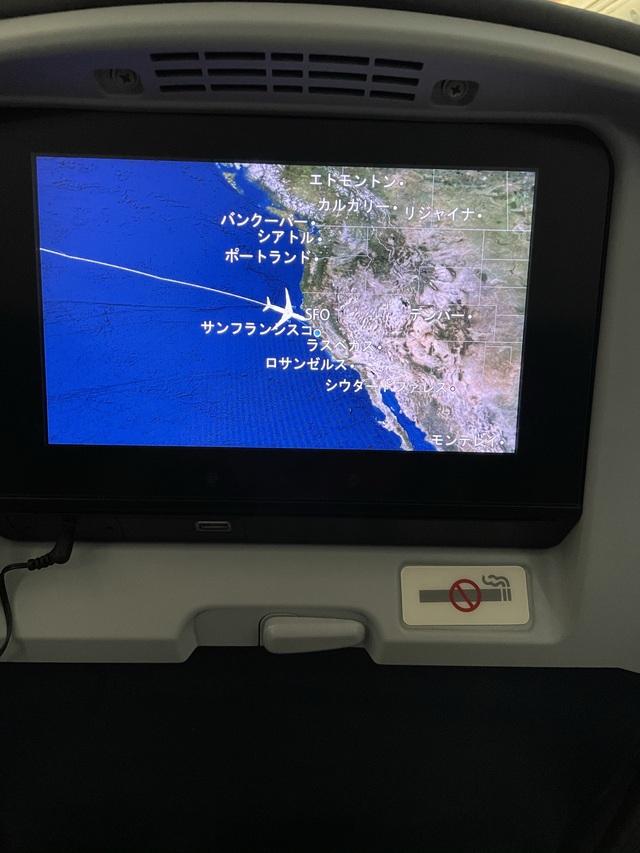 UA838の搭乗レビュー写真