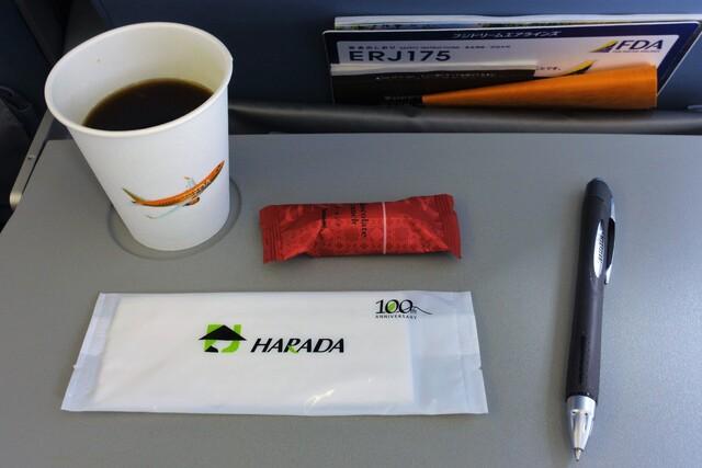 JH364の搭乗レビュー写真