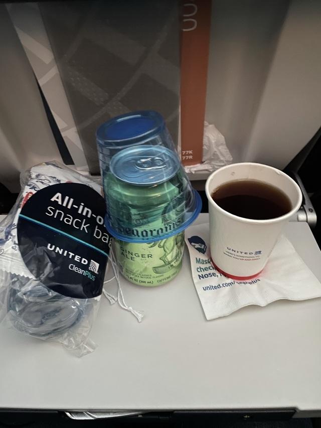 UA1509の搭乗レビュー写真